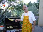 Fiery Foods founder 'cooks' at El Pinto