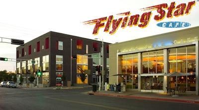 Flying Star Cafe now has a dedicated catering operation — Flying Star Catering. Pictured is the downtown Albuquerque Flying Star location.