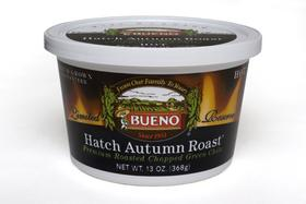 Bueno Foods new chile is the Hatch Autumn Roast.