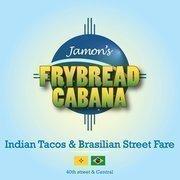 Jamon's Frybread Cabana logo