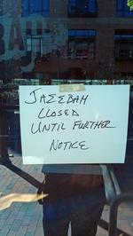 Landlord closes Jazzbah over missing lease payments