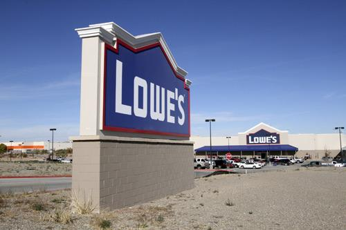 The Lowe's located in Los Lunas