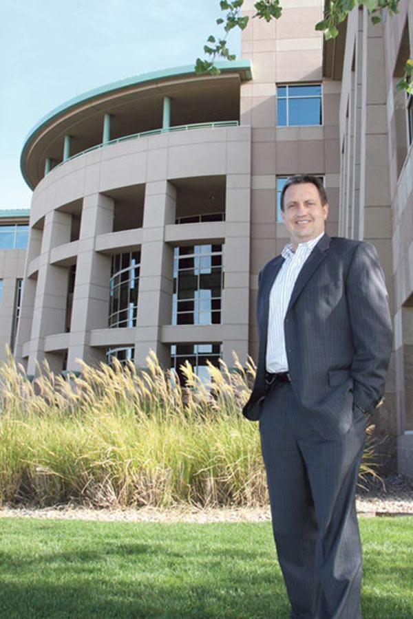 Pictured is Molina Healthcare New Mexico President Lynn Allen