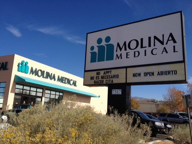 Molina Healthcare Inc. officials celebrated the opening of the firm's second New Mexico clinic Thursday by announcing they are hoping to open two more clinics in the state in 2013.