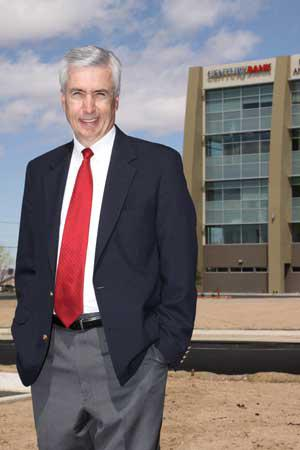 Major real estate lenders will be the featured speakers this Monday at NAIOP's monthly luncheon. Among them will be Paul Sowards of Century Bank (pictured).
