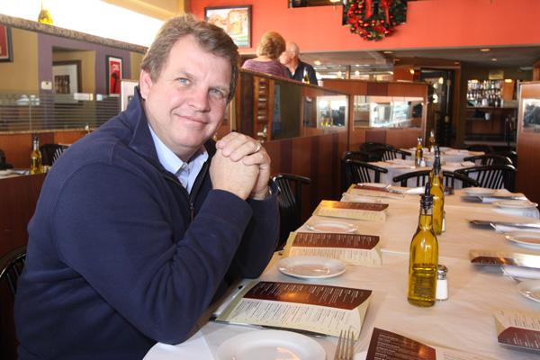 Steve Paternoster, owner of Nob Hill's Scalo Northern Italian Grill, has acquired 4209 San Mateo NE for Scalo's new business offices.
