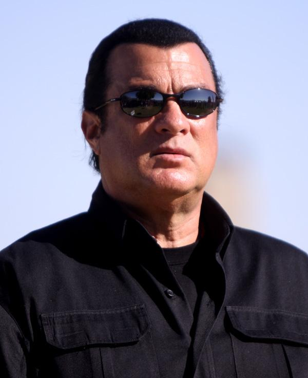 """Three action movie stars, including Steven Segal (pictured), Danny Trejo and Ving Rhames will be filming the new movie """"Force of Execution"""" in Albuquerque."""