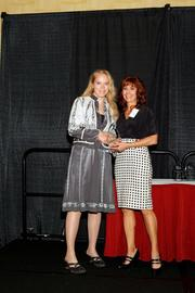(l to r) Erica Edgerly with Lisa J. Adkins