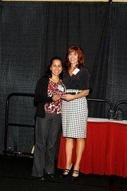 (l to r) Elizabeth Lopez and Lisa J. Adkins