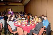 The awards ceremony was held at the Albuquerque Marriott Pyramid.