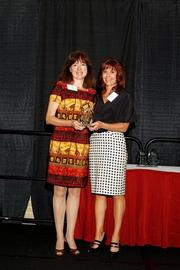 (l to r) Susan Rempe and Lisa J. Adkins, chairwoman of NMTC