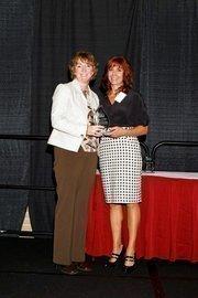 (l to r) Dr. Julie Wilder and Lisa J. Adkins