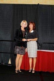 (l to r) Barbara Stoller and Lisa J. Adkins