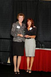 (l to r) Suzanne Roberts and Lisa J. Adkins