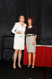 (l to r) Michelle King and Lisa J. Adkins