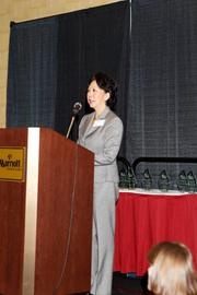 Betty Chao was the keynote speaker at the New Mexico Technology Council's fourth annual Women in Technology awards.