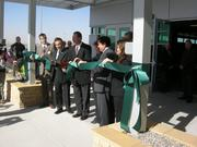 US. Foods' representatives joined New Mexico politicians for the ribbon-cutting ceremony.