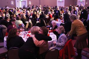 Tickets to the 2012 Women of Influence luncheon were completely sold out.