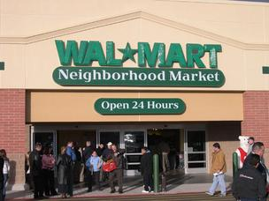 A Walmart photo of a Walmart Neighborhood Market.