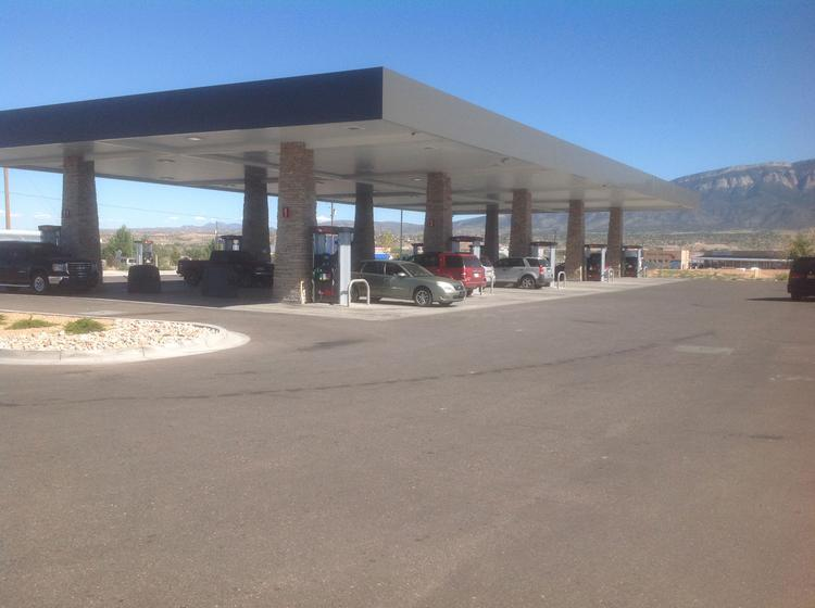 """Warrior Two is a convenience store and fueling station that was constructed not far from the pueblo's first venture into """"C-stores,"""" Warrior One."""