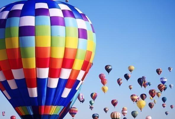 The Balloon Fiesta continues through Oct. 14.