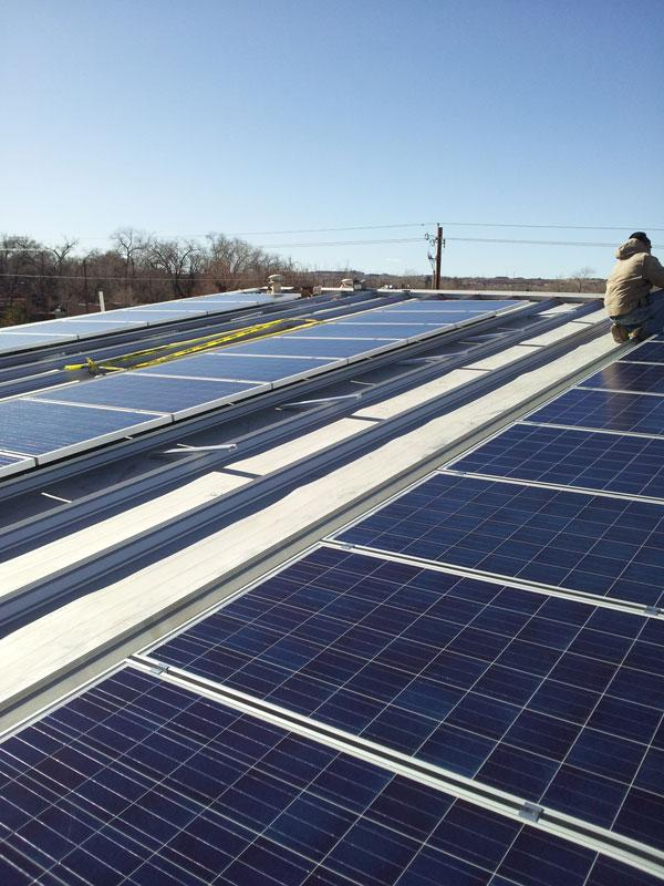 The Village of Corrales expects to save about $30,000 over 20 years from three solar photovoltaic arrays it installed on its village hall, senior center and fire station.