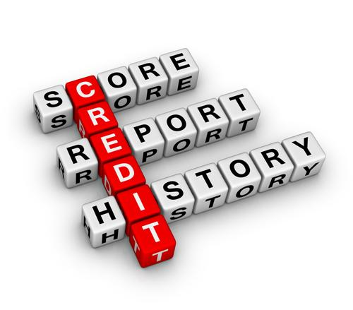 The average Florida credit score in March was 654, down from 657 a year ago.