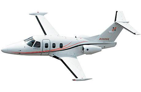 Eclipse Aerospace Inc. received a production certificate from the Federal Aviation Administration to produce an upgraded version of the Eclipse 500 very light jet.