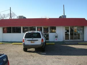 The soon-to-be-opened Jamon's Frybread Cabana on West Central Avenue in Albuquerque.