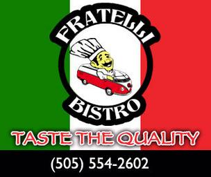 Fratelli Bistro opened in September on Central Avenue Southeast. The Italian eatery has moved and is now operating out of a space that also houses Sergio's Bakery in Albuquerque's Northeast Heights, managers with the two restaurants said.