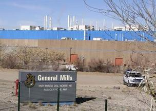 General Mills operates a manufacturing facility on Paseo del Norte in Albuquerque.