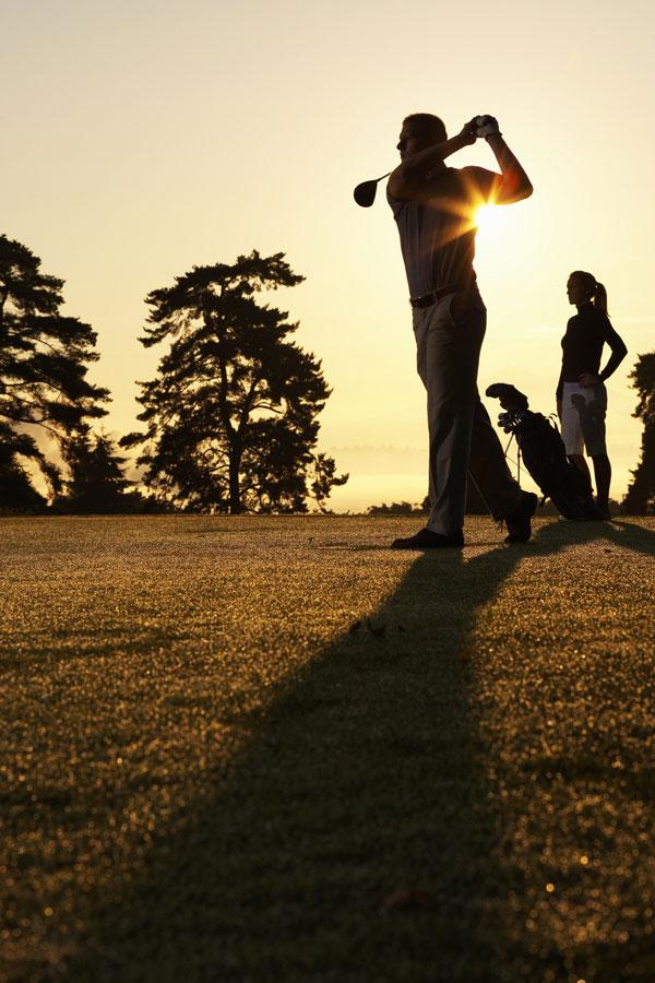 It has been said that golf is the language of business. But sometimes, it's best just to shut up.
