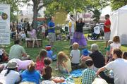 The Downtown Growers' Market features family friendly entertainment.