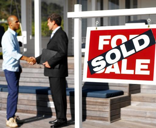 Home sales are up nationally, according to new Commerce Dept. data.