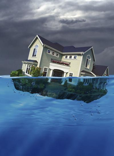 Fewer Americans haveunderwaterhomes, according to the U.S. Home Equity & Underwater Report for September.
