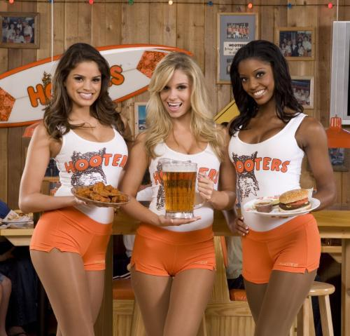 Hooters of America LLC has ended franchise agreements with IS Wings LLC, EM Wings LLC and owner William Harley for alleged non-compliance.