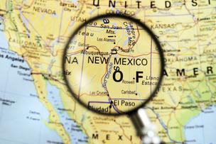 "Forbes magazine Sunday posted a list of 11 states it calls ""danger spots for investors."" New Mexico is at the top of the list."