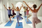 Pilates and Yoga Studios From 2002 to 2012, the Pilates and yoga studios industry grew an average of  2.1 percent per year and is projected to expand 5.1 percent in 2012. Pilates and yoga studios were highly resistant to the recession; instead of facing negative growth in 2008 and 2009, revenue merely slowed.