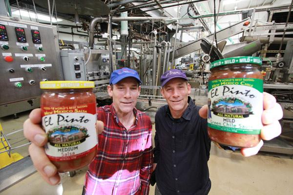 New Mexico's El Pinto Foods LLC has been in a year-long legal battle with Ocean Spray Cranberries Inc. Pictured in this file photo are El Pinto's Jim and John Thomas.