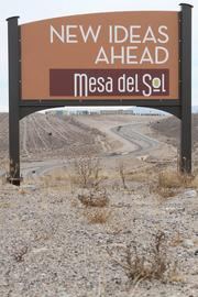 The Mesa del Sol master-planned development has been in the works for 30 years. It has 50 homes under construction and design, eight companies and 2,000 jobs.