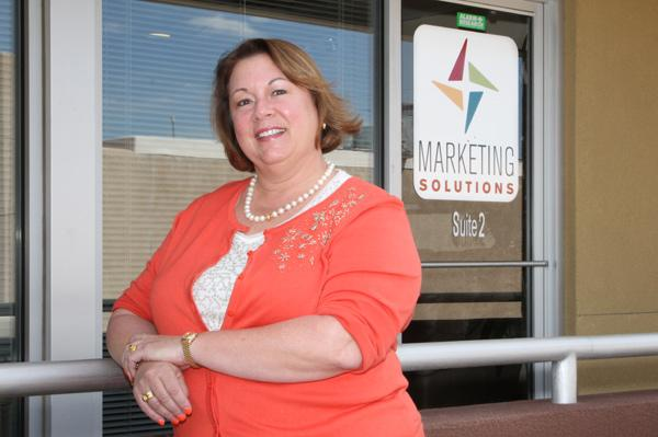 Laura Smigielski Garcia of Marketing Solutions says the recession prompted her company to focus more on targeted media and events that provide customer contact, like a special event with champagne for the unveiling of a new car model.
