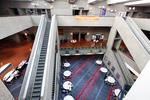 Convention center occupancy about half that of its peers
