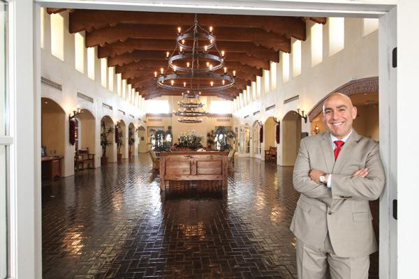 Adrian Perez, president of Heritage Hotels & Resorts, expects Hotel Albuquerque will be sold out for Gary Johnson's election night event.