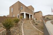 Pictured is one of the homes at Mesa del Sol.