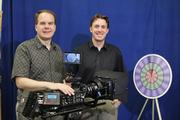 Tessive CEO Tony Davis, left, and Senior Engineer John Kouns.
