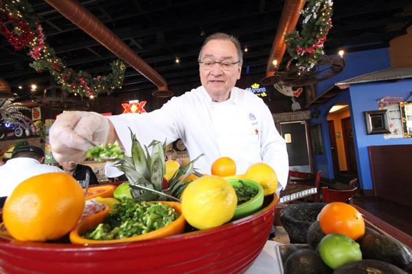 Dave Garduño, founder of the Garduño's restaurant chain, has a new restaurant, Chile Rio. He's working with family members and running the business in a hands-on way.