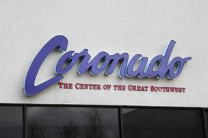 Coronado Shopping Center will convert its vacant Target-owned, but never operated, store into two new 53,000-square-foot junior anchors, according to Randy Sanchez, Coronado's general manager.