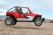 The all-terrain vehicle is street-legal in 49 states.
