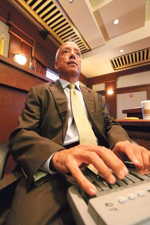 Paul Baca has transcribed hundreds of trials since he became a court reporter in 1981. The most famous matter he worked on was the Wen Ho Lee case.
