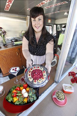 Callie Tolman's catering service, Make My Lunch, creates everything from fruit and vegetable platters to Italian, Mexican, New Mexican and Asian meals for its customers.